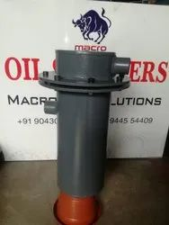 MACRO ON LINE FILTER HOUSING, Size: Only Housing 25 Bar