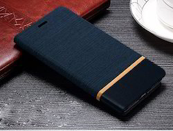 Flip Back Leather Waterproof cover for Micromax