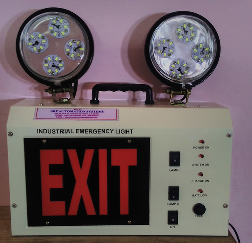 Industrial Emergency Lights - LED Model-2 Industrial
