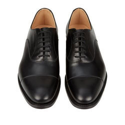 Formal Black Leather Shoes, Size: 6 to 10