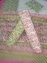 Cotton Leaves Print Suit Fabric
