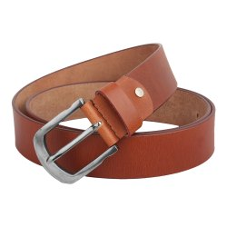 Formal Brown Leather Belt