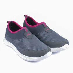 Grey Sports Wear Ladies Sports Shoe