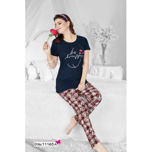 350d776388 Jinudi Ladies Cotton Stylish Night Suit, Rs 495 /piece, Rich Point ...