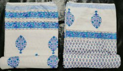 Hand Block Cotton Reversible AC Dohar