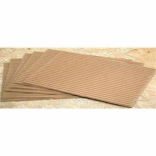 5 Ply Corrugated Kraft Paper Sheets कोरगेटेड शीट