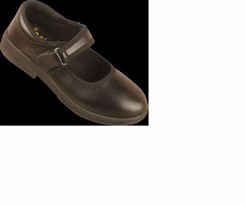 29d774bd4a1e Black Girls PVC School Uniform Shoes