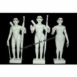 Iskcon Ram Darbar Marble Statue