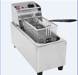 Single Tank Table Top Electric Fryer GF- 4SC