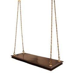 5feet X 2feet Teak Wood Natural Traditional Swing Oonjal Rs 9000