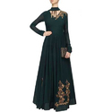 Ladies Designer hand embroidered Anarkali Suit
