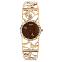Mother Of Pearl Dial Metal Strap Watch 95045WM01J