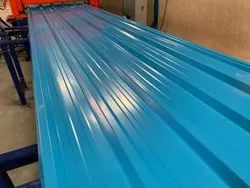 Galvanized Iron Color Coated Sheet, Thickness Of Sheet: 0.56 Mm, Material Grade: 345 -550 Mpa
