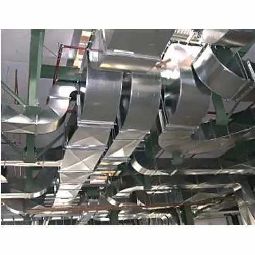 Power-Tech Silver HVAC Duct, For Industrial Use