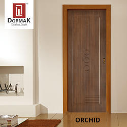 Orchid Decorative Wooden Door