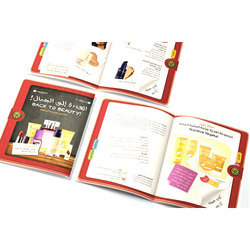 Multicolor Promotional Booklet