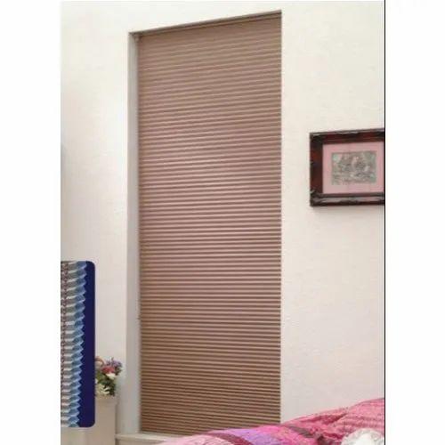 Brown Polyester Cellular Blinds