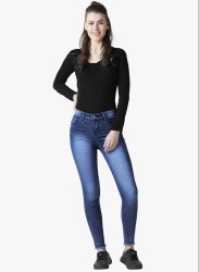 The Dry State Women Cotton Lycra Jeans GB023