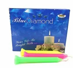 Blue Diamond Festive Candles Pack