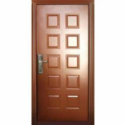 Dark Brown Rectangular Door Frame
