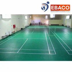 Ebaco Green PU Badminton Court Flooring