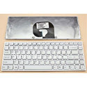 White Qwerty Laptop Keyboard