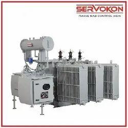 Servokon Upto 10 Mva OLTC Distribution Transformer, Output Voltage: 433 Volts