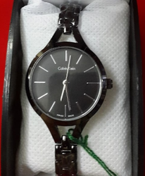 Ladies Black Wrist Watch