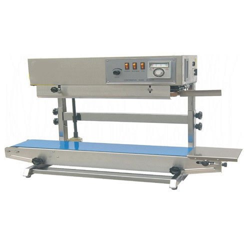Semi-Automatic Mild Steel Vertical Band Sealer Machine, for Pouch Sealing, Model Name/Number: Sdg Digital