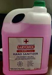 Sarvonol Kills 99.99% of Germs