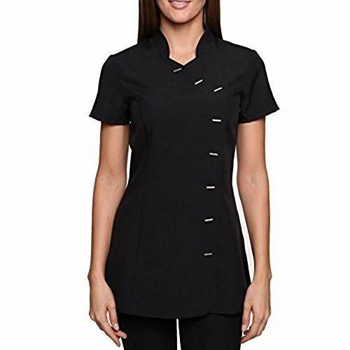 Cotton women salon uniform rs 560 set uniselect for Spa uniform cotton