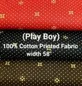 Cotton Shirting Fabric (Play Boy)