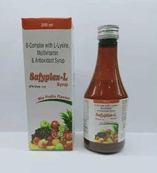B-Complex with L-Lysine, multivitamin Syrup