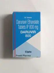 DARUVIR 800MG 30S CAP