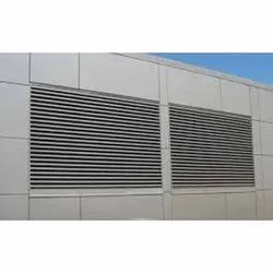 Matel C Type Steel Louvers, For Residential Use