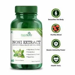 Simply Herbal Noni Juice Extract Capsule, Packaging Type: Bottle, For Personal