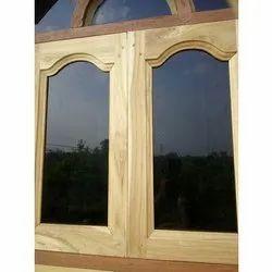 Brown Wooden Window
