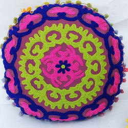 Decorative Embroidered Cushion Cover
