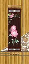 3D Flower Door Print Skin