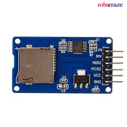 Robocraze SD Card Module with Serial Port-MP3-TF-16P MP3 SD Card Module