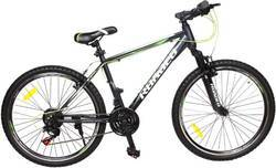 Hercules Hardliner 18 Speed Black Mountain Cycle, Size: 26 inch 29er