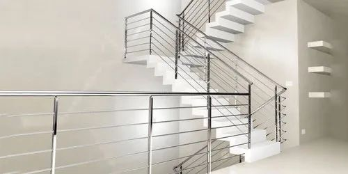 Silver Polish Stainless Steel Railing Pipes