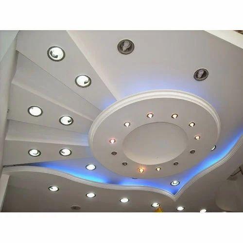 Elegant Gypsum Roof Ceiling Service
