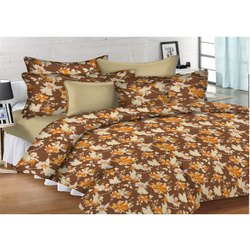 Flower Printed Bed Sheets