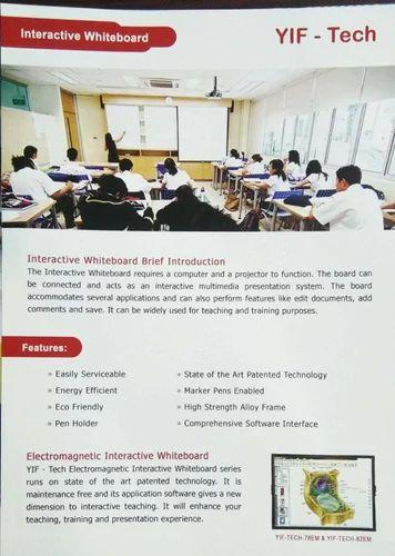 Interactive White Board - Interactive Whiteboard Service Provider