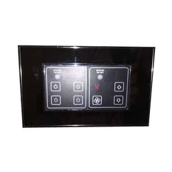 Modular Goldmedal Black Touch Switch Board for Home
