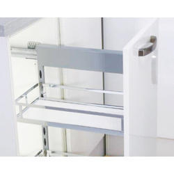 Pullout Basket Two Shelf