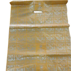 Polypropylene D Cut 5 Kg Plastic Carry Bag, for Shopping