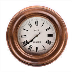 Double Wood Ring Clock