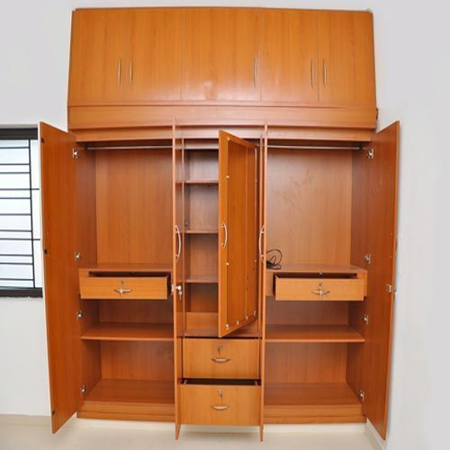 Laminated Board Wooden Storage Almirah Rs 1800 00 Square Feet